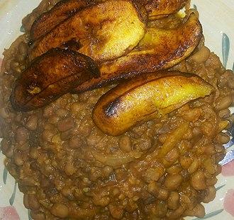Bean - Beans and plantain