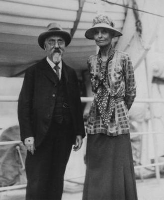 Beatrice Webb - Beatrice and Sidney Webb during their trip to the Soviet Union in 1932