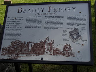 Beauly Priory sign.jpg