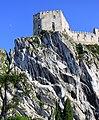 Beckov Castle, Slovakia, from below.jpg