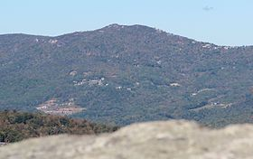 Beech Mountain viewed from Grandfather Mountain, Oct 2016 (cropped).jpg