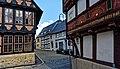 Beeindruckende Fachwerkbauten prägen die Goslarer Altstadt. 05.jpg