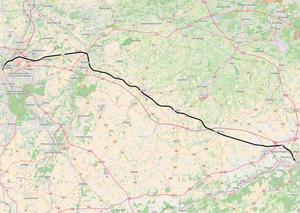 Belgian railway line 36 - Image: Belgian Railway Line 36