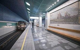 Belomorskaya (Moscow Metro) - Image: Belomorskaya 4