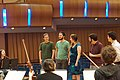 Ben Folds and yMusic read song arrangements by Duke University composition graduate students (17060336810).jpg