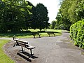Benches, Belle Isle Park, Exeter - geograph.org.uk - 1919314.jpg