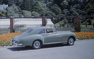 Personal luxury car - 1956 Bentley S1 Continental by H J Mulliner