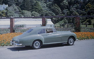 Bentley Continental - Image: Bentley S1 Continental in New Zealand in the 1960's