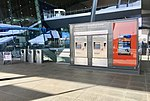 Bergen Airport, Flesland, Norway. Tickets for light rail and public transport (billettautomater for Bybanen og Skyss-busser) 2018-03-15 b.jpg