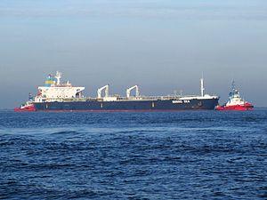 Bering Sea IMO 9085429 p2 approaching Port of Rotterdam, Holland 21-Dec-2007.jpg