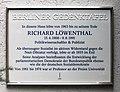 Berliner Gedenktafel Höhmannstr 8 (Grune) Richard Löwenthal.jpg