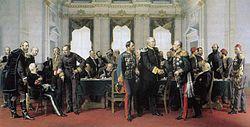 Otto von Bismarck au Congrès de Berlin en 1884.