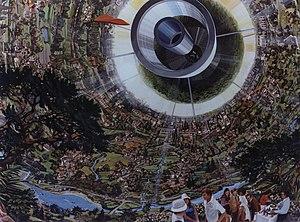 """Gerard K. O'Neill - Bernal sphere, an """"inside-out planet"""""""