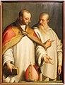 Bernardino campi, s. ugo di lincoln e il beato guglielmo da fenoglio, 1576.JPG