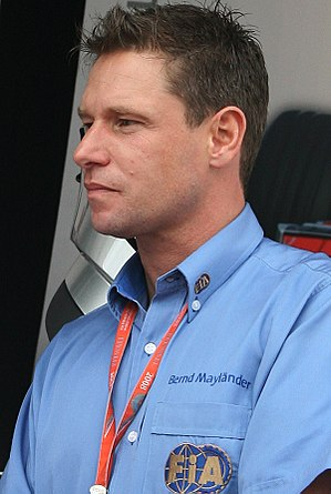 Bernd Mayländer - Mayländer at the 2008 Japanese Grand Prix.