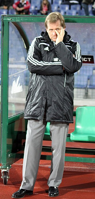 Bernd Schuster - Schuster before the match to Beşiktaş with CSKA Sofia, 2 December 2010, Sofia, Bulgaria.