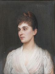 Bertha-Clara von Rothschild, by Ellis William Roberts