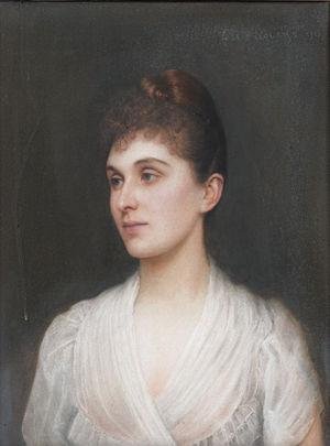 Louis Philippe Marie Alexandre Berthier, 3rd Prince of Wagram - Bertha-Clara von Rothschild (Ellis William Roberts, 1890)