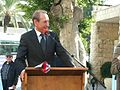 Bertrand Delanoë in The inauguration ceremony renovation Paris Square in Haifa (4).jpg
