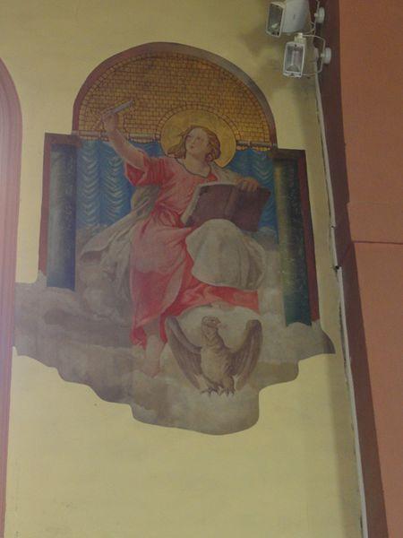 Bertrichamps (M-et-M) église Saint-Jean-Baptiste, peinture murale
