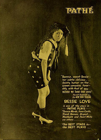 Bessie Love - Advertisement, 1918
