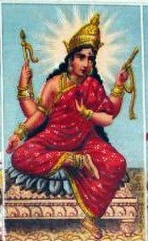 Bhuvaneshvari - Bhuvaneshvari. Consort - Shiva