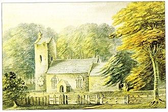 John Swete - Image: Bicton Old Church By Swete