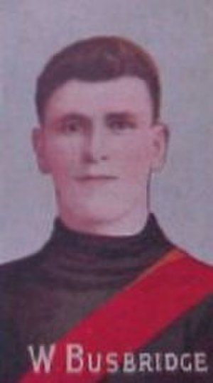 1911 VFL season - Essendon premiership star Bill Busbridge