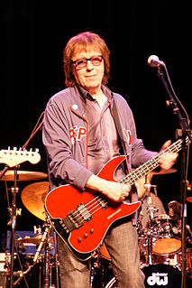 British bassist of The Rolling Stones