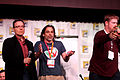 Billy West, Stephen Sandoval & John DiMaggio (7600944698).jpg