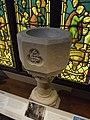 Birmingham History Galleries - Birmingham its people, its history - Forward - Archway of tears - Baptismal font (8167821097).jpg