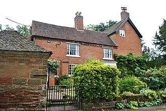 A. E. Housman - Valley House, the poet's birthplace