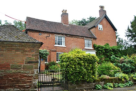 Valley House, Housman's birthplace Birthplace of A.E. Housman.jpg