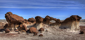 Bisti/De-Na-Zin Wilderness - Bisti Badlands