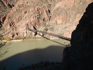 Black Suspension Bridge bridge in United States of America
