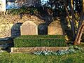 Bladon, Oxfordshire - St Martin's Church - churchyard, grave of 10th Duke of Marlborough 2.jpg