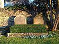 Bladon, Oxfordshire - St Martin's Church - churchyard, grave of 10th Duke of Marlborough 2.jpg