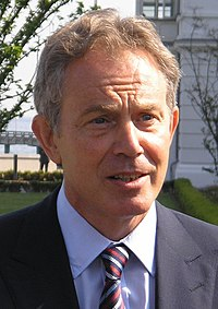 Tony Blair became the first sitting head of government to record their own guest part.