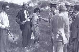 Blanche Barrow - Blanche Barrow (not long after her capture)