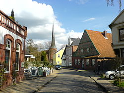 Street view in Barmstedt
