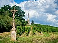 Blienschwiller, Vineyard, Church, Cross.jpg