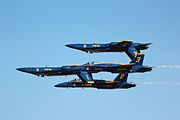 Blue angels double farvel