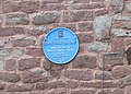 Blue plaque - Copse Cross Toll Gate - geograph.org.uk - 478886.jpg