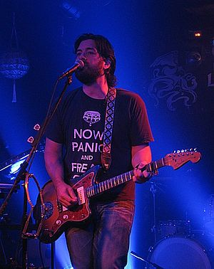 Bob Schneider - Bob Schneider during live recording session at The Saint, May 2011