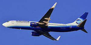 ALROSA (airline) - An Alrosa Boeing 737-800