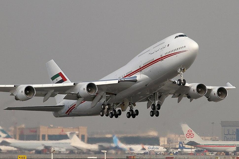 Boeing 747-433M, United Arab Emirates (Dubai Air Wing) AN1620809