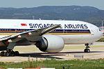 Boeing 777-312 ER Singapore Airlines 9V-SWK (8706360225).jpg