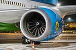 Boeing 787 Dreamliner at Riga Airport (32497769135).jpg