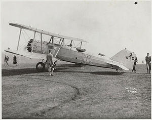 Felts Field - Boeing Air Transport B-40 at Felts Field on September 23, 1927