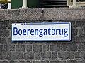 Boerengatbrug - Rotterdam - Name plate (waterway).jpg